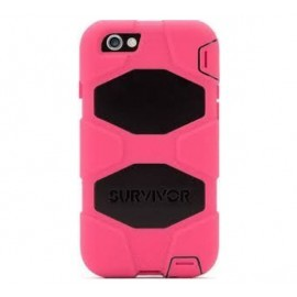 Griffin Survivor All-Terrain hardcase iPhone 6(S) Plus roze/zwart