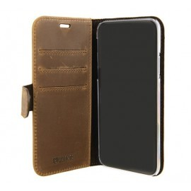 Valenta Booklet Classic iPhone X / XS Luxe Vintage Brown