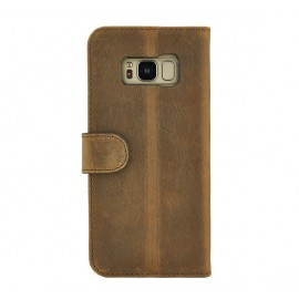 Valenta Booklet Classic Luxe Vintage Brown Galaxy S8