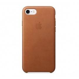 Apple leather case iPhone 7 / 8 / SE 2020 saddle brown