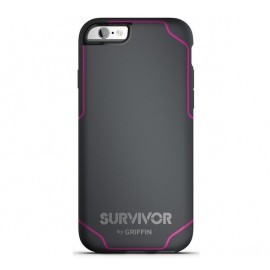 Griffin Survivor Journey iPhone 6(S) grijs/roze