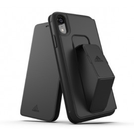Adidas SP Folio Grip Case iPhone XR zwart
