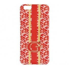 Guess G-Cube TPU Case iPhone 6(S) Orange
