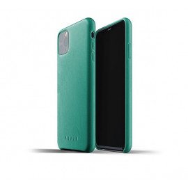 Mujjo Leather Case iPhone 11 Pro Max groen