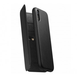Nomad Rugged Case Tri-Folio iPhone XR zwart