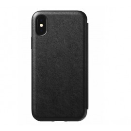 Nomad Rugged Case Tri-Folio iPhone XS Max zwart