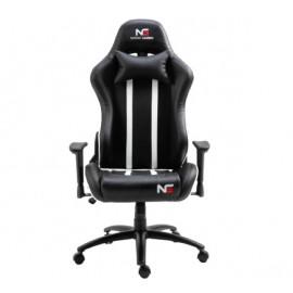 Nordic Gaming Carbon Gaming Chair Zwart / Wit