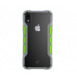 Element Case Rally iPhone XS Max lichtgrijs / groen