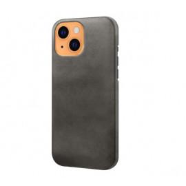 Casecentive Leren Back case iPhone 13 zwart
