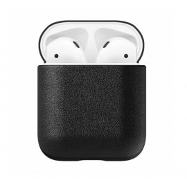 Nomad AirPod Leather Case zwart