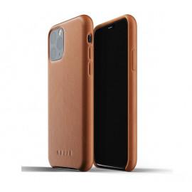 Mujjo Leather Case iPhone 11 Pro bruin