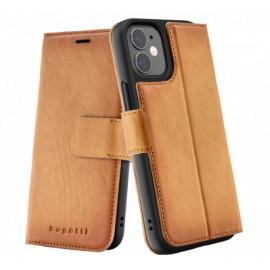Bugatti Zurigo Wallet case iPhone 12 Mini bruin