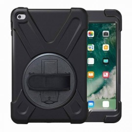 Casecentive AirStrap hardcase met handvat iPad Mini 1/2/3 zwart