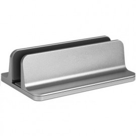 Casecentive Aluminum Universal Laptop Stand Silver