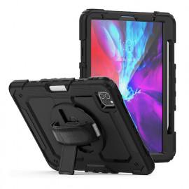 """Casecentive Handstrap Pro Hardcase met handvat iPad 11"""" 2020 zwart"""