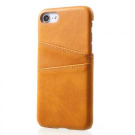 Casecentive Leren Wallet back case iPhone 7 / 8 / SE 2020 tan