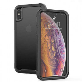 Casecentive Shockproof case iPhone X / XS clear