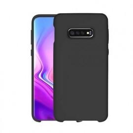 Casecentive soft silicone back case Galaxy S10 zwart