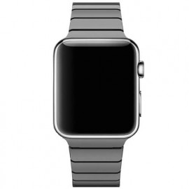 Casecentive Slim Stainless Steel Watch Strap Apple Watch 42 / 44 mm zwart