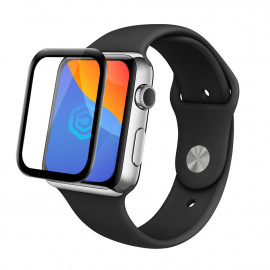 Casecentive 3D full cover flexible glass Apple Watch 44mm