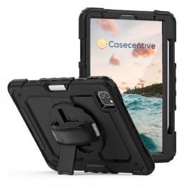 """Casecentive Handstrap Pro Hardcase met handvat iPad 12.9"""" 2020 zwart"""