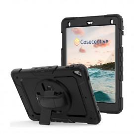 Casecentive Handstrap Pro Hardcase met handvat iPad Pro 10.5 / Air 10.5 (2019) zwart