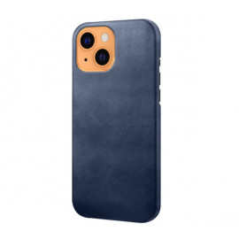 Casecentive Leren Back case iPhone 13 blauw