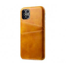 Casecentive Leren Wallet back case iPhone 12 Mini bruin