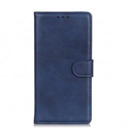 Casecentive Leren Wallet case met sluiting iPhone 13 blauw
