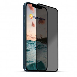 Casecentive Privacy Glass Screenprotector 3D full cover iPhone 12 / iPhone 12 Pro