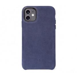 Decoded Bio Leather case iPhone 11 blauw