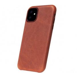 Decoded Leren case iPhone 11 bruin