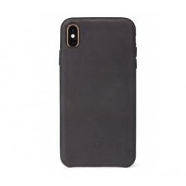 Decoded Leren case iPhone XR zwart