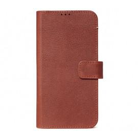 Decoded Leren Wallet Case iPhone 11 bruin
