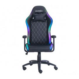 Gear4U Junior RGB gaming chair zwart