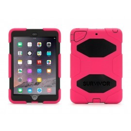 Griffin Survivor Extreme Duty hardcase iPad Mini 1/2/3 roze/zwart