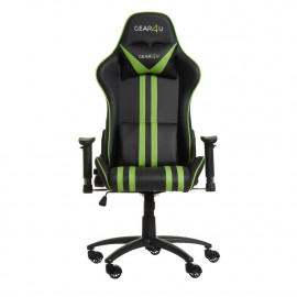 Gear4U Elite gaming chair groen / zwart