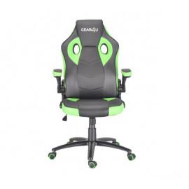 Gear4U Gambit Pro gaming chair zwart / groen