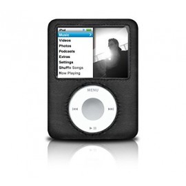 Griffin hard-shell leather case for iPod Nano
