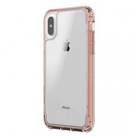 Griffin Survivor Clear iPhone X / XS rose goud