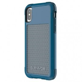 Griffin Survivor Fit Case iPhone X blauw