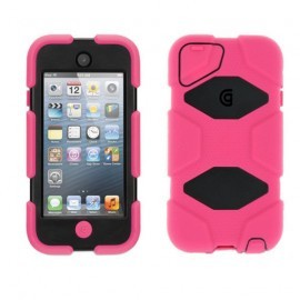 Griffin Survivor Hardcase iPod Touch 5G roze/zwart