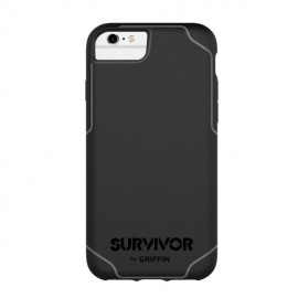 Griffin Survivor Journey iPhone 6(S) / 7 / 8 / SE 2020 zwart/grijs