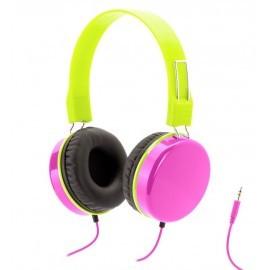 Griffin Crayola MyPhones hoofdtelefoon roze/groen