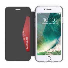 Griffin Reveal Wallet Case for Apple iPhone 7/6s/6  zwart/transparant