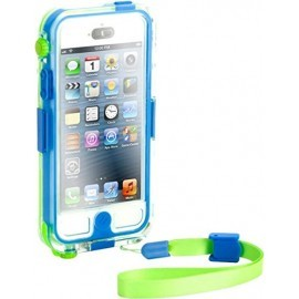 Griffin Catalyst Waterproof hardcase iPhone 5(S)/SE blauw/groen