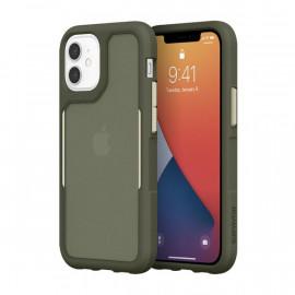 Griffin Survivor Endurance case iPhone 12 Mini Groen