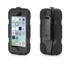 Griffin Survivor Extreme Duty hardcase iPhone 5C zwart (GB38141)
