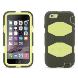 Griffin Survivor Extreme Duty hardcase iPhone 6(S) groen/olijf (GB40567)