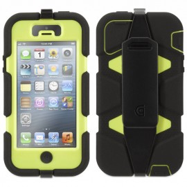 Griffin Survivor hardcase iPhone 5(S) zwart/groen